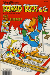 Cover Thumbnail for Donald Duck & Co (Hjemmet / Egmont, 1948 series) #5/1990