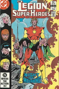 Cover Thumbnail for The Legion of Super-Heroes (DC, 1980 series) #296 [Direct]