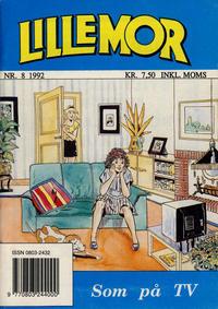 Cover Thumbnail for Lillemor (Serieforlaget / Se-Bladene / Stabenfeldt, 1969 series) #8/1992