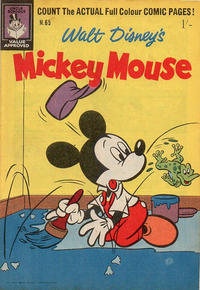 Cover Thumbnail for Walt Disney's Mickey Mouse (W. G. Publications; Wogan Publications, 1956 series) #65