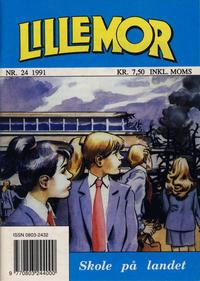 Cover Thumbnail for Lillemor (Serieforlaget / Se-Bladene / Stabenfeldt, 1969 series) #24/1991