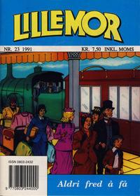 Cover Thumbnail for Lillemor (Serieforlaget / Se-Bladene / Stabenfeldt, 1969 series) #23/1991
