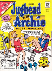 Cover Thumbnail for Jughead with Archie Digest (Archie, 1974 series) #103 [Direct]