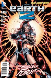 Cover Thumbnail for Earth 2 (DC, 2012 series) #8 [Nicola Scott / Trevor Scott Cover]