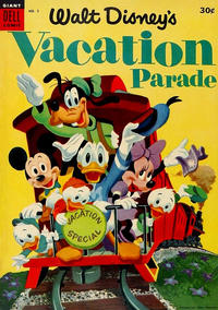Cover Thumbnail for Walt Disney's Vacation Parade (Dell, 1950 series) #5 [30¢]