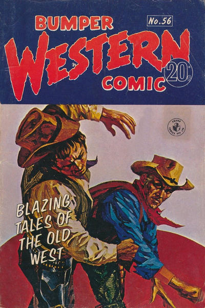 Cover for Bumper Western Comic (K. G. Murray, 1959 series) #56