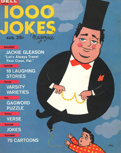 Cover for 1000 Jokes (Dell, 1939 series) #102