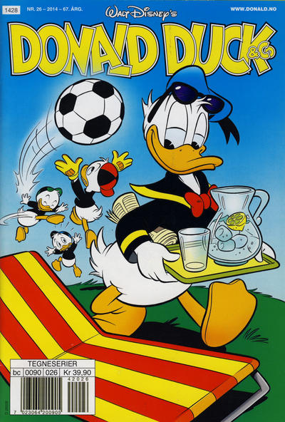Cover for Donald Duck & Co (Hjemmet / Egmont, 1948 series) #26/2014