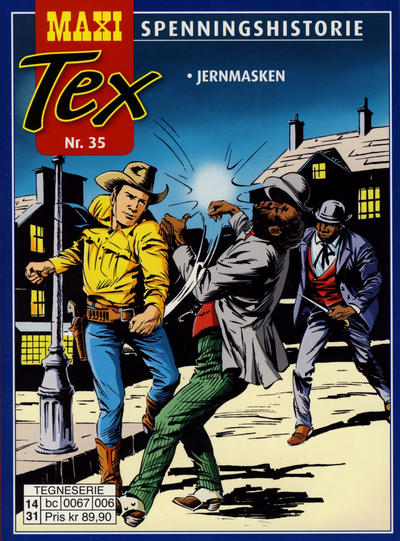 Cover for Maxi Tex (Hjemmet / Egmont, 2008 series) #35