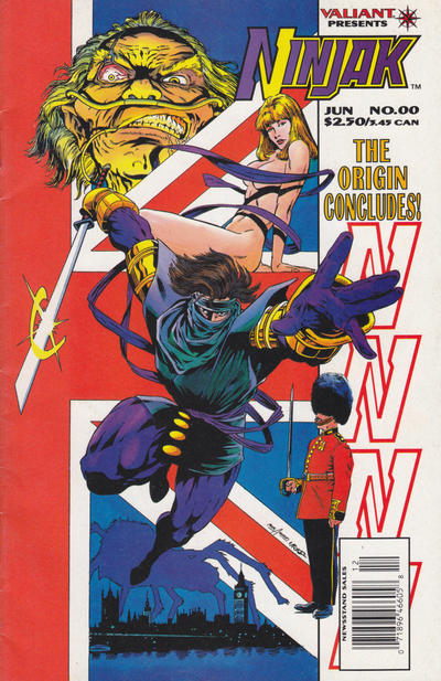 Cover for Ninjak (Acclaim / Valiant, 1994 series) #00