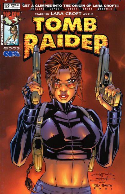 Cover for Tomb Raider: The Series (Image, 1999 series) #1/2