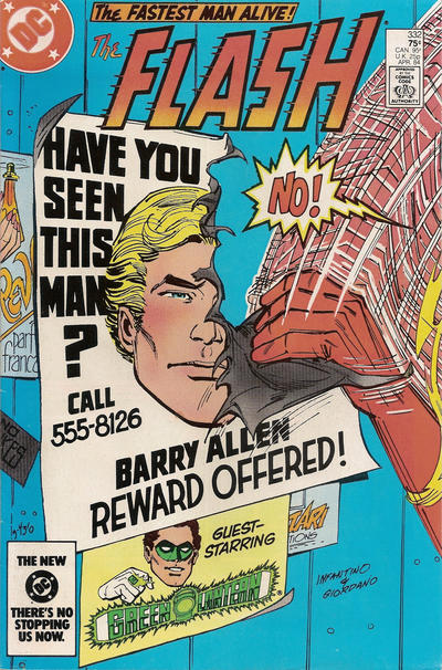 Cover for The Flash (DC, 1959 series) #332 [direct-sales]