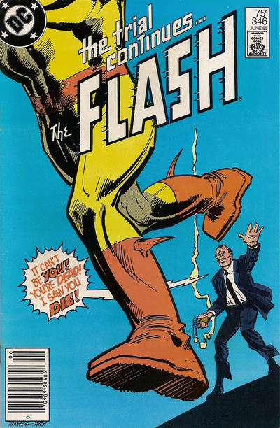 Cover for The Flash (DC, 1959 series) #346 [Direct Sales Variant]