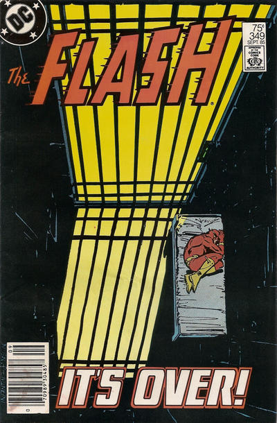 Cover for The Flash (DC, 1959 series) #349 [Direct Sales]