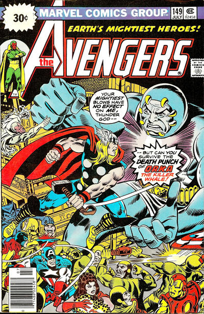 Cover for The Avengers (Marvel, 1963 series) #149 [25¢ Cover Price]