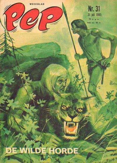 Cover for Pep (Geïllustreerde Pers, 1962 series) #31/1965