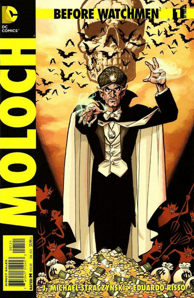 Cover for Before Watchmen: Moloch (DC, 2013 series) #1
