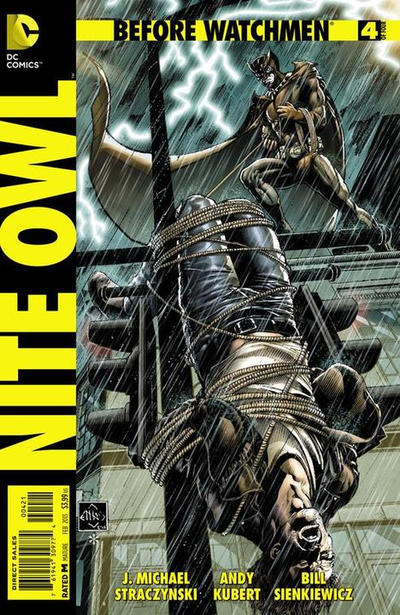 Cover for Before Watchmen: Nite Owl (DC, 2012 series) #4