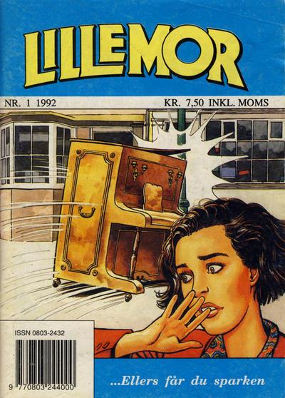 Cover for Lillemor (Serieforlaget / Se-Bladene / Stabenfeldt, 1969 series) #1/1992