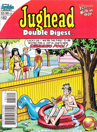 Cover for Jughead's Double Digest (Archie, 1989 series) #182 [Newsstand]