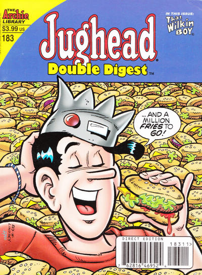 Cover for Jughead's Double Digest (Archie, 1989 series) #183 [Newsstand]