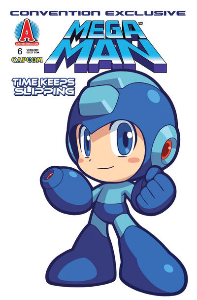 Cover for Mega Man (Archie, 2011 series) #6