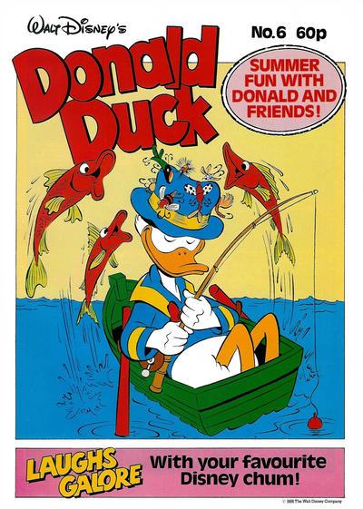 Cover for Walt Disney's Donald Duck (Egmont UK, 1987 series) #6