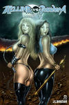 Cover Thumbnail for Hellina vs Pandora (2003 series) #0 [James Brown Variant]