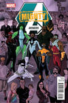 Cover for Mighty Avengers (Marvel, 2013 series) #5 [Kalman Andrasofszky Variant]