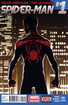 Cover Thumbnail for Miles Morales: Ultimate Spider-Man (2014 series) #1 [Second Printing Variiant Cover]