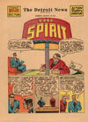 Cover Thumbnail for The Spirit (1940 series) #8/31/1941 [Detroit News edition]