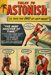 Cover Thumbnail for Tales to Astonish (1959 series) #43 [no price or date variant]