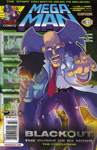 Cover Thumbnail for Mega Man (Archie, 2011 series) #32 [Newsstand Edition]