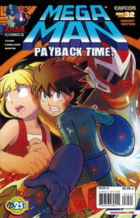 Cover Thumbnail for Mega Man (Archie, 2011 series) #32 [Variant Cover by Pow Ree]