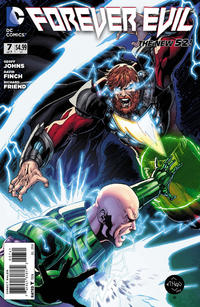 """Cover Thumbnail for Forever Evil (DC, 2013 series) #7 [Ethan Van Sciver """"Luthor vs. Luthor"""" Cover]"""