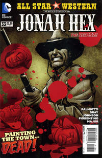 Cover Thumbnail for All Star Western (DC, 2011 series) #33