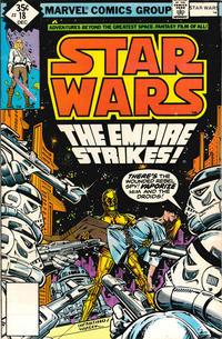 Cover Thumbnail for Star Wars (Marvel, 1977 series) #18 [Whitman]