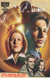 Cover Thumbnail for The X-Files: Year Zero (IDW, 2014 series) #1 [Regular Cover - Carlos Valenzuela]