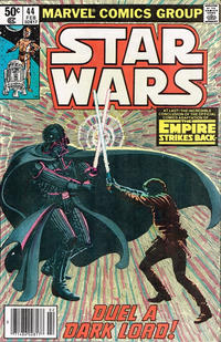 Cover Thumbnail for Star Wars (Marvel, 1977 series) #44 [Newsstand]