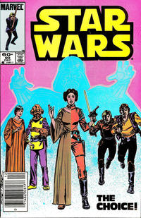 Cover Thumbnail for Star Wars (Marvel, 1977 series) #90 [Newsstand]