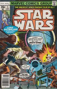 Cover Thumbnail for Star Wars (Marvel, 1977 series) #5 [Regular Edition]