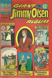 Cover Thumbnail for Giant Jimmy Olsen Album (K. G. Murray, 1966 ? series) #13