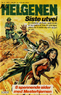 Cover Thumbnail for Helgenen (Semic, 1977 series) #4/1977