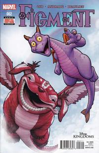 Cover Thumbnail for Disney Kingdoms: Figment (Marvel, 2014 series) #2