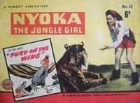 Cover Thumbnail for Nyoka the Jungle Girl (Cleland, 1949 series) #13