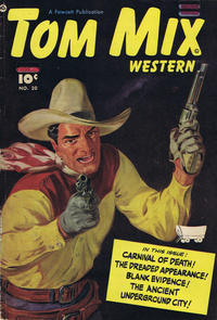 Cover Thumbnail for Tom Mix Western (Anglo-American Publishing Company Limited, 1948 series) #20