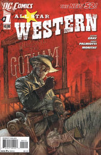 Cover Thumbnail for All Star Western (DC, 2011 series) #1 [Second Printing]