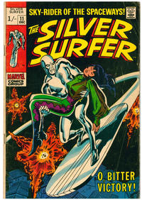 Cover Thumbnail for The Silver Surfer (Marvel, 1968 series) #11 [British]