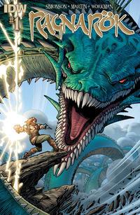 Cover for Ragnarök (IDW, 2014 series) #1 [Second printing]