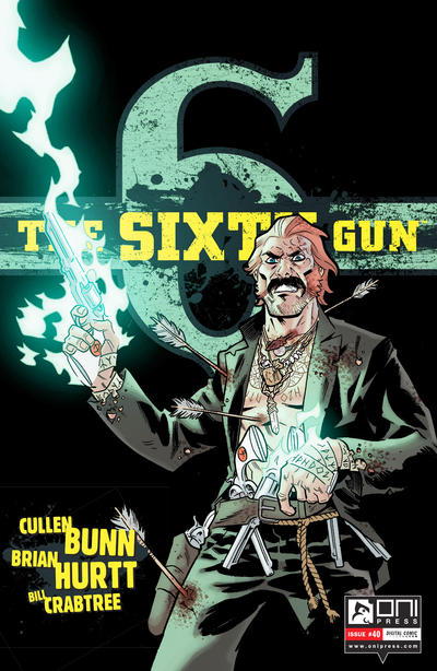 Cover for The Sixth Gun (Oni Press, 2010 series) #40